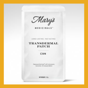 Mary's Medicinals CBN Patch
