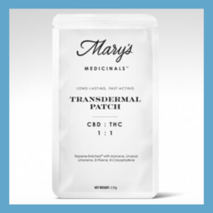 Mary's Medicinal 1:1 THC to CBD Patch