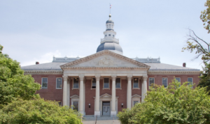 Picture of Maryland State House in Annapolis